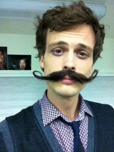 Matthew Grey Gubler - quirky, talented, hilarious and not too hard on the eyes either :) lol