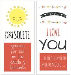Tarjetas imprimibles para San Valentín http://manualidades.euroresidentes.com/2014/02/tarjetas-originales-para-san-valentin.html