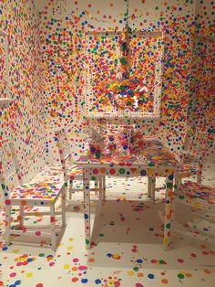 Yayoi Kusama at Louisiana Museum of Modern Art, Copenhagen | Featured on Sharedesign.com