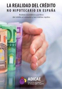 La realidad del crédito no hipotecario en España : análisis económico y jurídico del crédito al consumo y los créditos rápidos (2015)