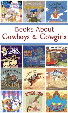 Children's Picture Books About Cowboys and Cowgirls