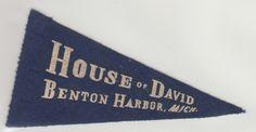 Image detail for -. Blue Heaven: Collection: House of David Vintage Baseball Postcards House Of David, Benton Harbor, Vintage Postcards, Heaven, Objects, Museum, Joy, Baseball, Detail