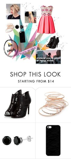 """""""Bright and Dark"""" by blondypup ❤ liked on Polyvore featuring Krystal, Red Camel and Casetify"""