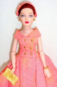 """Fancy That Tiny Kitty Collier Tonner 10"""" Fashion Doll w/Stand - 10"""" Tiny Kitty Collection"""