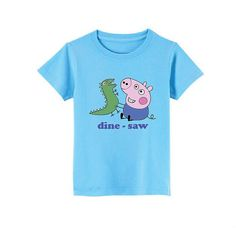 Peppa Pig  George TShirt for children  available in by SoorDesign, €13.00