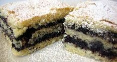 Mákos sütemény Poppy Seed Cookies, Poppy Cake, Hungarian Recipes, Quick Bread, Something Sweet, Cheesecake, Dessert Recipes, Food And Drink, Favorite Recipes