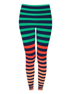 Leggings in 'Trina Stripe' | K-DEER In Stock $98