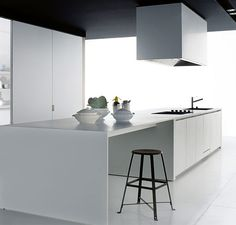 nowoczesna kuchnia, projektowanie kuchni, projekt eleganckich kuchni, Poliform