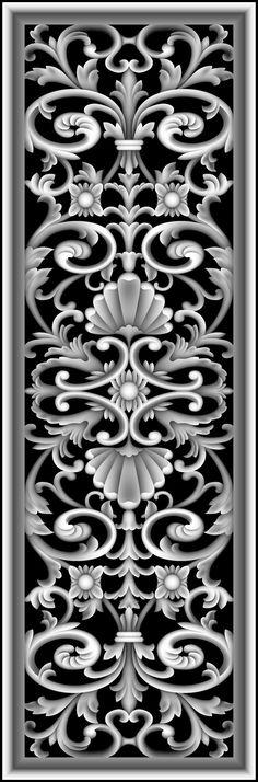 浮雕 灰度图/浮雕灰度图大洋花相关图片 Wood Carving Patterns, Carving Designs, Stencil Designs, Bird Silhouette Art, Alpha Art, 3d Wallpaper Design, Front Door Design Wood, Modern Exterior Doors, Grayscale Image