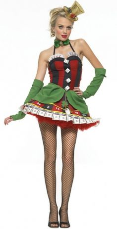 Lady Luck Costume - Sexy Costumes