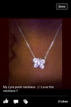 My nine carrot foams necklace
