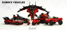 Lego Batman Batmobile Robin Vehicle MOC MOD