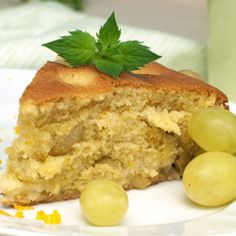 A Very tasty recipe for grape cake. This light and fruity cake is great enjoyed with an afternoon tea.. Grape Cake Recipe from Grandmothers Kitchen.