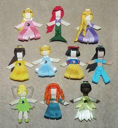 Disney Princess hairclips