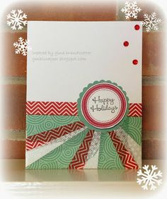Gina's Little Corner of StampinHeaven: Merry Christmas Eve!