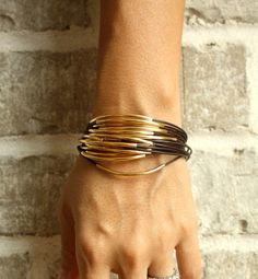 black gold bracelet
