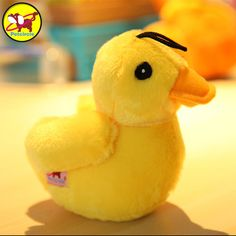1Pc Soft Plush Pet Dog Toy Duck Cute Chew Squeaky Toys for Small Dog / Pet Puppy Play Toys Supplies #Affiliate