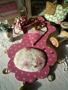Gorgeous French sewing pampille--tutorial