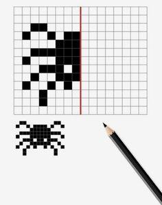 Halloween 2014, Numeracy, Pixel Art, Coding, Teaching, Pattern, How To Make, Owl Bird, Activities