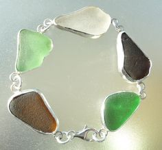 hlseaglassjewelry-vcm - BEZEL SEA GLASS BRACELET MADE WITH YOUR SEA GLASS, $175.00 (http://www.hlseabeachglassjewelry.com/bezel-sea-glass-bracelet-made-with-your-sea-glass/)