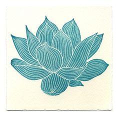 Lotus flower ❤ liked on Polyvore