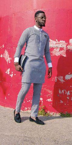 Niji African men shirt and a matching pant set/African clothing/African men clothing/African men shirt /dashiki/summer/prom/groom suit Latest African Men Fashion, African Wear Styles For Men, African Shirts For Men, Nigerian Men Fashion, African Dresses Men, African Attire For Men, African Clothing For Men, African Print Fashion, Africa Fashion