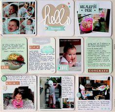 MK-life: 34.týden... a první stránka Julinky - k 5.měsíci!