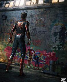 credits marvel_dc_p # spiderman Marvel Dc Comics, Marvel Avengers, Marvel Fanart, Memes Marvel, Marvel Funny, Captain Marvel, All Spiderman, Amazing Spiderman, Batman