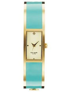 Kate Spade New York Carousel watch in turquoise