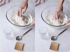 Faire son pain maison sans machine à pain - chefNini Brioche Recipe, Naan Recipe, Best Bread Recipe, Bread Recipes, Brioche Rolls, Brioche Bread, Chocolate Brioche, Brioche French Toast, Icing