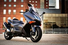 2015 Yamaha TMAX: A Sporty Scooter?