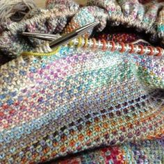 As Much As I Love These Different Projects I Keep Seeing With Linen Stitch And Beautiful Colorful Yarns You'd Think I'd Be Making One Already… - Click for More...