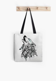 The Wolf | Tote Bag