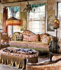 Sophisticated Gypsy Style for a Proper 'Sitting' Room...
