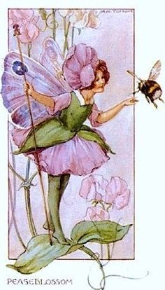 Margaret Tarrant The Peaseblossom Fairy 216 Pieces Jigidi Jigsaw Puzzle With