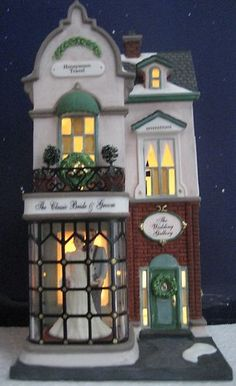 Dept 56 Christmas in the City Wedding Gallery -