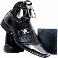 Sapato Social Masculino Verniz - Promoção... Tap Shoes, Men's Shoes, Shoe Boots, Dress Shoes, Dance Shoes, Fashion Shoes, Mens Fashion, Slipper Boots, Mercedes Amg