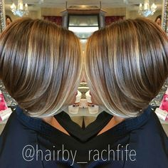 57 Trendy Short Hair Cuts for Women 2019 Short bob haircut with subtle balayage highlights. hair by Rachel Fife @ SF Salon Balayage Highlights, Balayage Hair, Ombre Hair, Subtle Balayage, Highlights 2017, Pixie Highlights, Purple Highlights, Balayage Brunette, Short Hair Cuts For Women