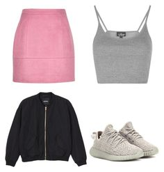 """""""Cuter than"""" by abandele on Polyvore featuring Topshop, Monki and adidas Originals"""