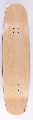 """36"""" x 9.25"""" Double Kicktail Longboard Deck"""