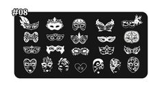 1-Pcs Graceful Popular Hot Nails Art Stampers Template Design Printing Tips Stamp Manicure Model Type Tian-Xin-08 >>> Read more reviews of the product by visiting the link on the image.