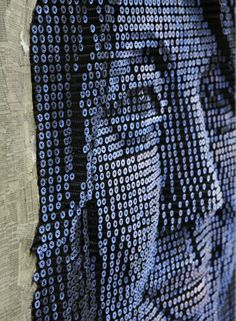 Andrew Myers Portraits Made With A Drill and Philips Head Screws.