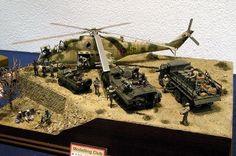Mil Mi-24 1/35 Scale Model Diorama