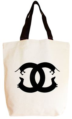 just buy it.     Doxie Luxe Tote, $25, from The Bean Store