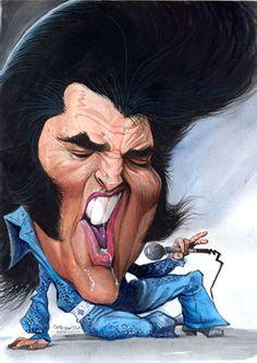 Elvis Presley Artist: Petar Pismestrovic  website: http://www.pismestrovic.com