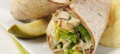Chicken Caesar Wrap - Weight Watchers Recipes