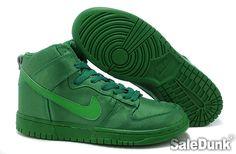 Nike Dunk Frogskin Green