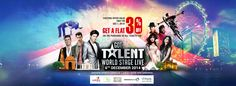 Book your tickets for Got Talent World Stage Live today, and get 30% off on your tickets! Hurry up, while tix last. Click on the image to book now!