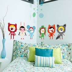 Stick 'em up – off the wall stickers from Chispum