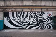 INSA 'Do One Thing Well' Gif-iti - mashKULTURE